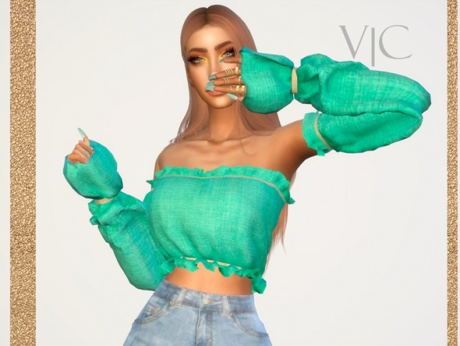 Sims 4 SHIRT 22Y III by Viy Sims at TSR