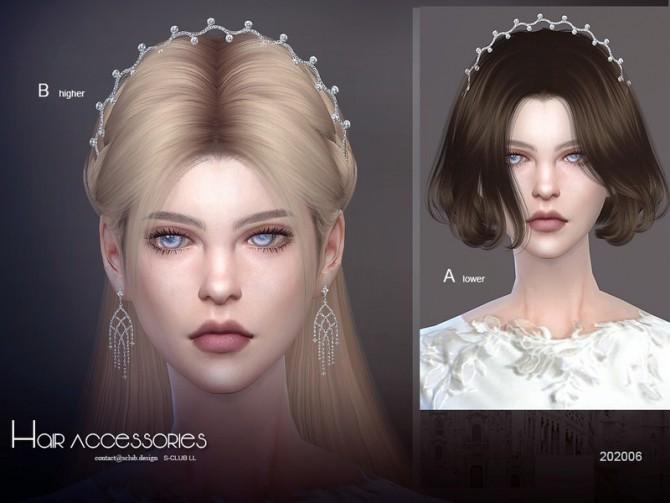 Sims 4 Hair Accessories 202006 by S Club LL at TSR