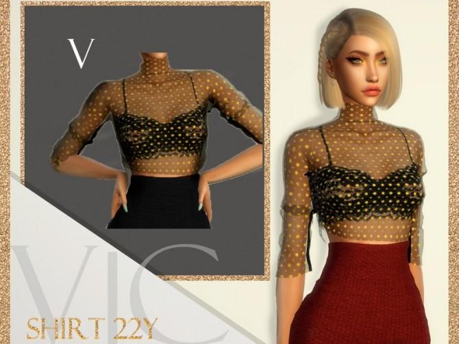 Sims 4 SHIRT 22Y V by Viy Sims at TSR