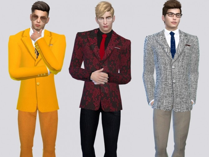 The Americana Suit Jacket by McLayneSims at TSR image 5104 670x503 Sims 4 Updates