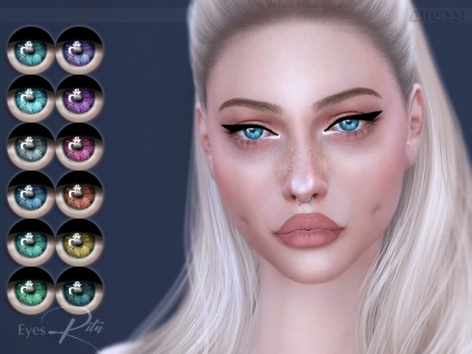 Sims 4 Rita eyes by ANGISSI at TSR
