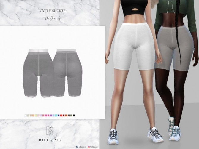 Cycle Shorts by Bill Sims at TSR image 5410 670x503 Sims 4 Updates