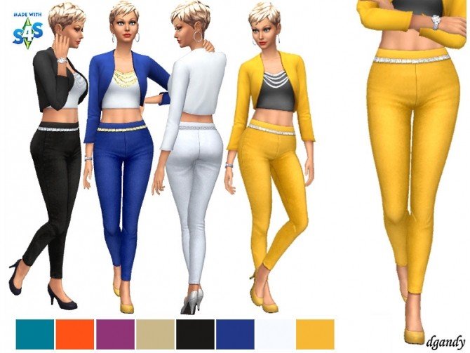 Sims 4 Pants 202003 17 by dgandy at TSR