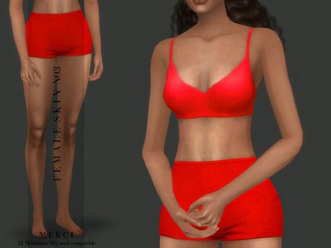 Sims 4 Female Skin N03 by Merci at TSR