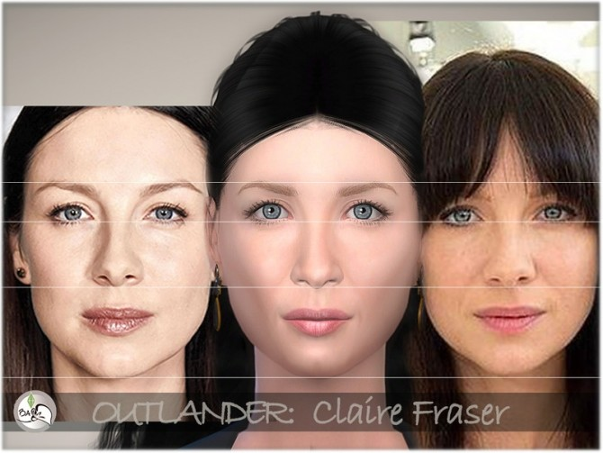 Sims 4 OUTLANDER   Claire Fraser by BAkalia at TSR