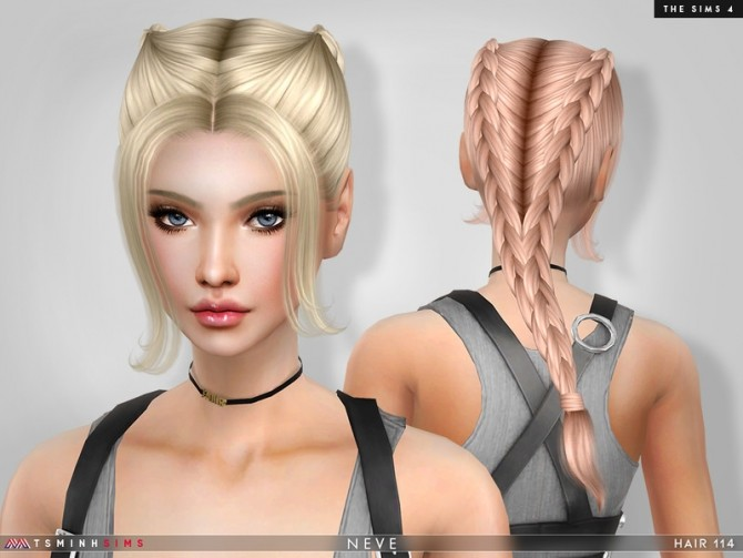 Neve Hair 114 by TsminhSims at TSR image 5815 670x503 Sims 4 Updates