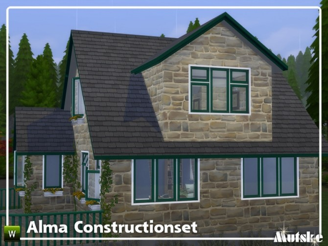 Alma Construction set Part 3 by mutske at TSR image 5823 670x503 Sims 4 Updates