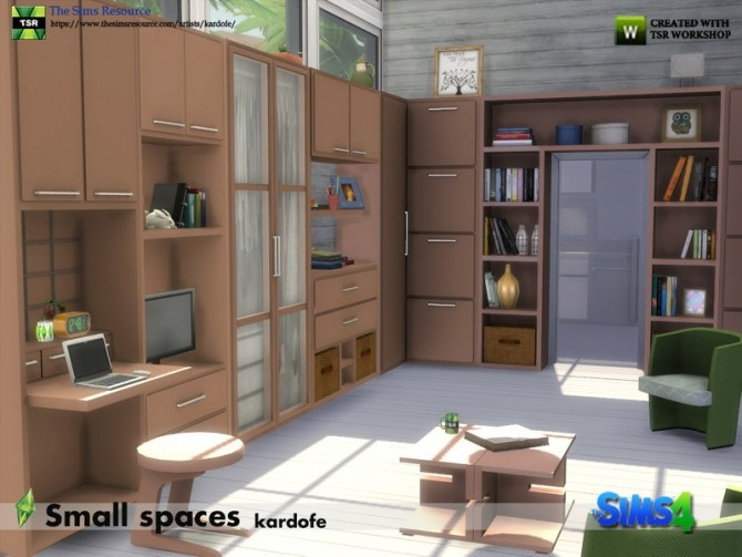 Small spaces set by kardofe at TSR image 593 670x503 Sims 4 Updates