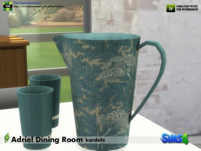 Sims 4 Adriel Dining Room by kardofe at TSR