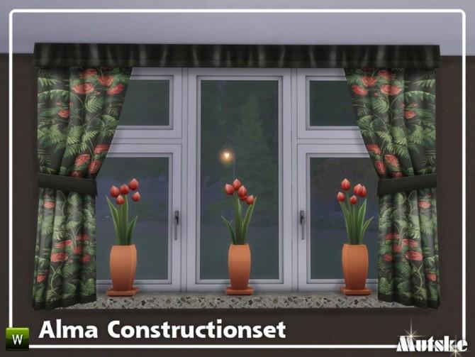 Sims 4 Alma Construction set Part 3 by mutske at TSR