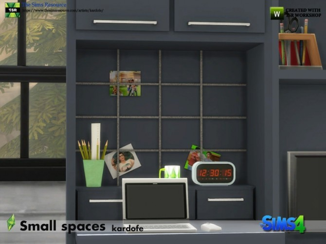 Small spaces set by kardofe at TSR image 603 670x503 Sims 4 Updates