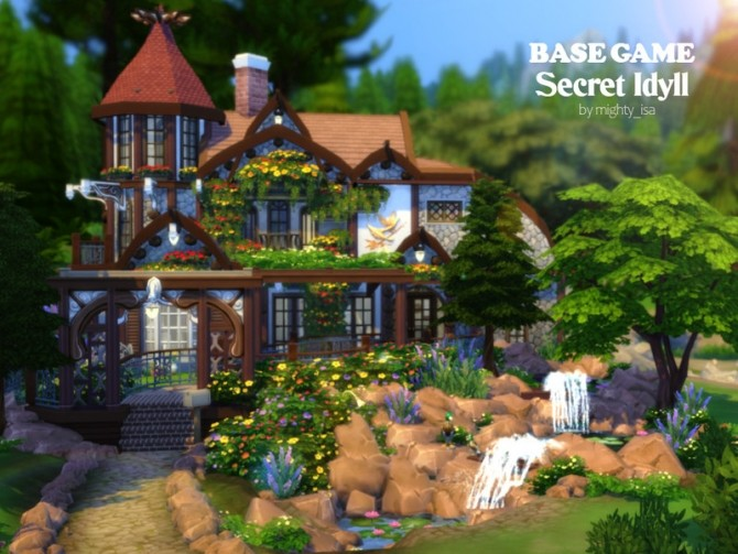 Secret Idyll small family home by VirtualFairytales at TSR image 6104 670x503 Sims 4 Updates