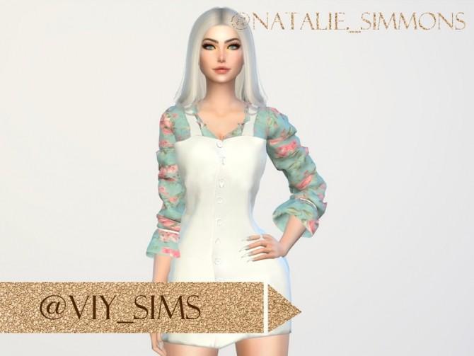 Sims 4 DRESS 22Y IV by Viy Sims at TSR