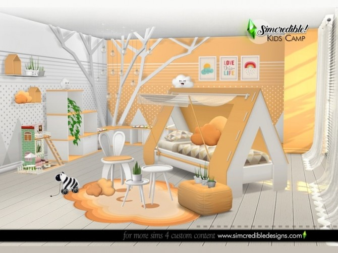 Kids Camping room by SIMcredible at TSR image 6121 670x503 Sims 4 Updates
