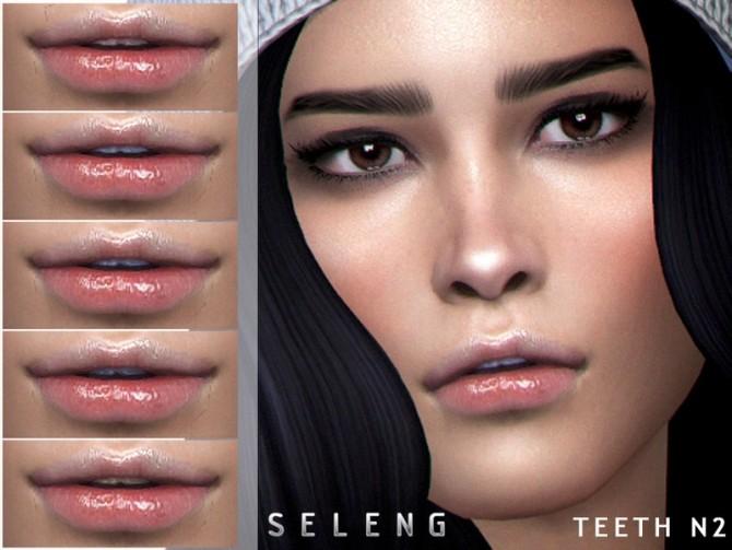 Sims 4 Teeth N2 by Seleng at TSR