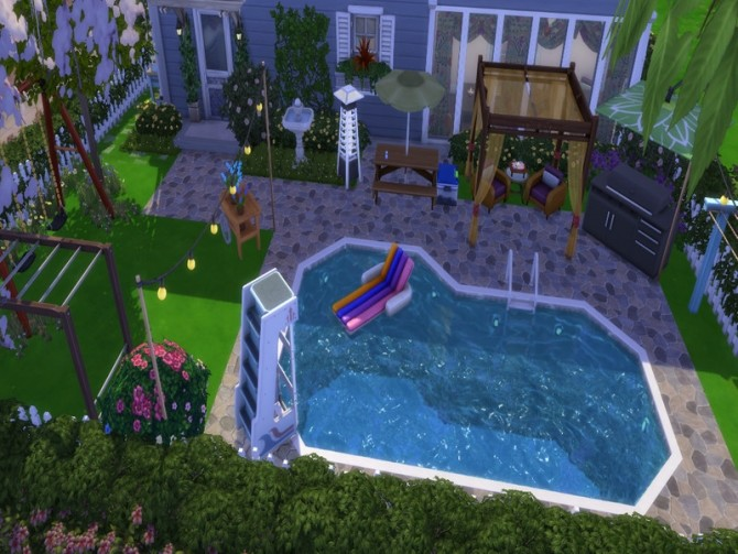 Sims 4 Glen Falls by NewBee123 at TSR