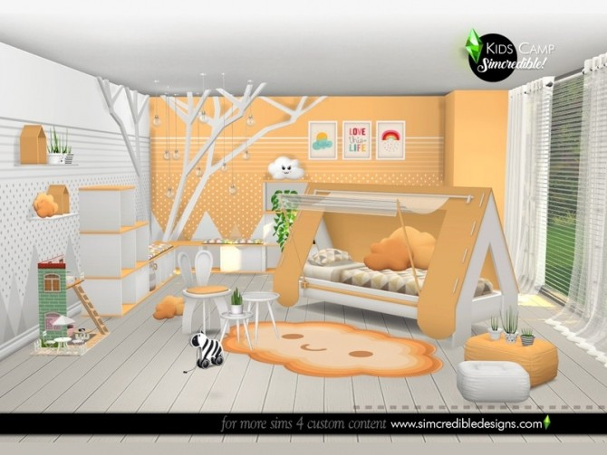 Kids Camping room by SIMcredible at TSR image 6417 670x503 Sims 4 Updates