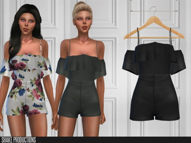 Sims 4 391 Jumpsuit by ShakeProductions at TSR