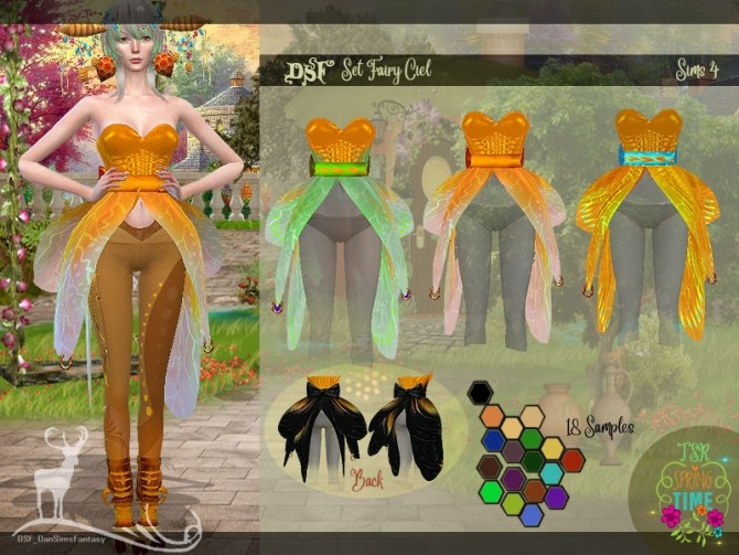 DSF SET FAIRY CIEL by DanSimsFantasy at TSR image 6513 670x503 Sims 4 Updates