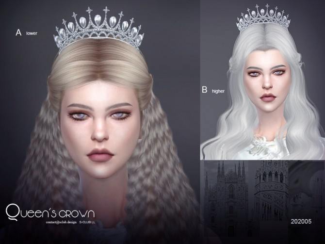 Sims 4 Crown 202005 by S Club LL at TSR