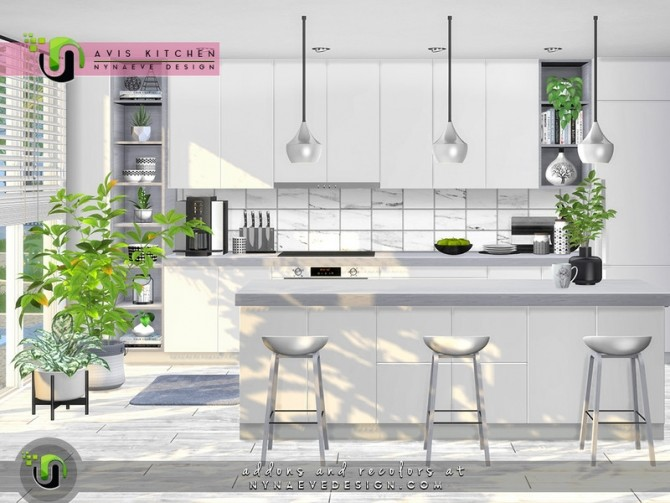 Avis Kitchen by NynaeveDesign at TSR image 6823 670x503 Sims 4 Updates