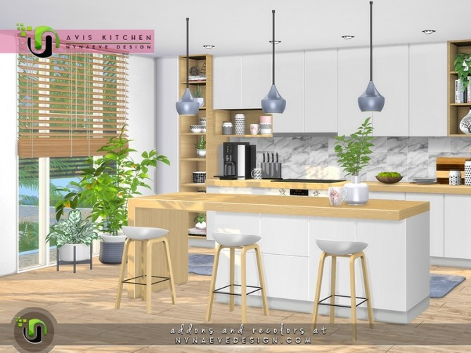 Avis Kitchen by NynaeveDesign at TSR image 6923 670x503 Sims 4 Updates