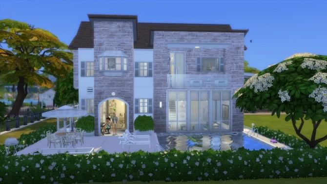 Sims 4 Casa Xuva No CC by mamba black at Mod The Sims