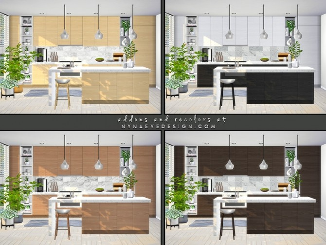 Avis Kitchen by NynaeveDesign at TSR image 7023 670x503 Sims 4 Updates