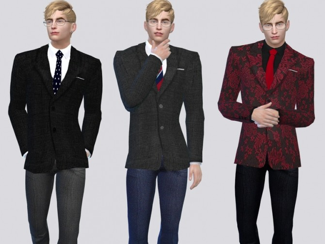 The Americana Suit Jacket by McLayneSims at TSR image 7104 670x503 Sims 4 Updates