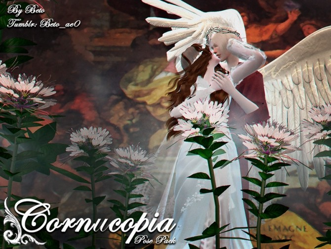 Sims 4 Cornucopia Pose Pack by Beto ae0 at TSR