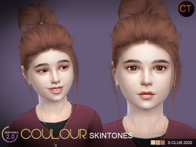COLOURS skintones CT 2.0 by S Club WMLL at TSR image 7219 670x503 Sims 4 Updates