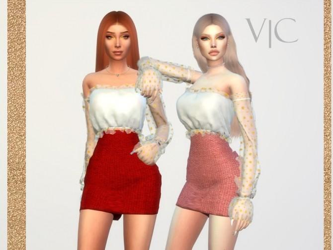 Sims 4 SHIRT 22Y I by Viy Sims at TSR