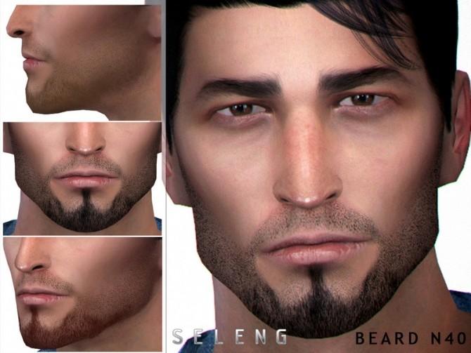 Sims 4 Beard N40 by Seleng at TSR