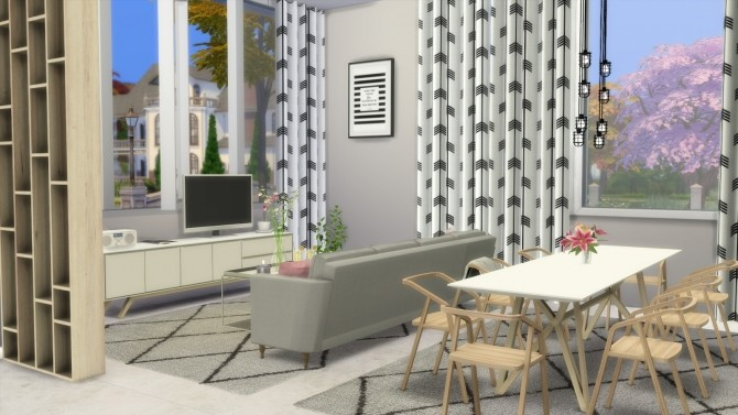 SCANDI VIBE HOUSE at Dinha Gamer image 743 670x377 Sims 4 Updates