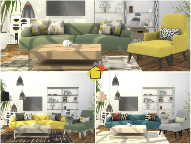 Brittany Living Room by Onyxium at TSR image 7517 670x503 Sims 4 Updates