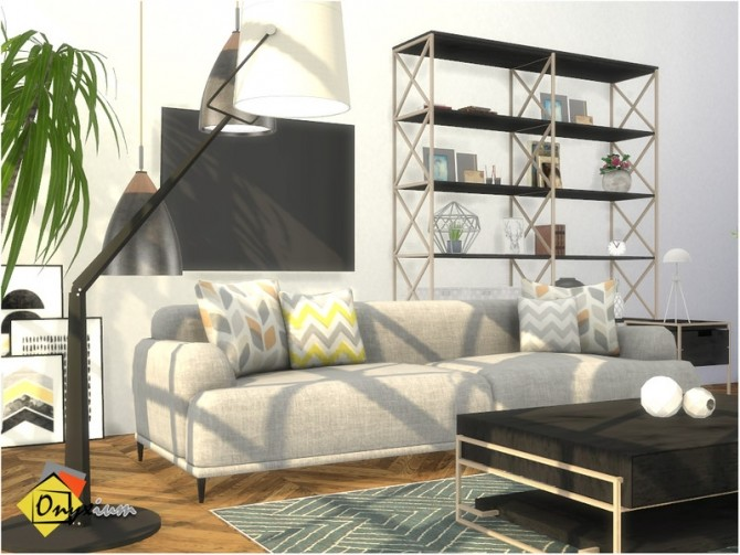 Brittany Living Room by Onyxium at TSR image 7618 670x503 Sims 4 Updates