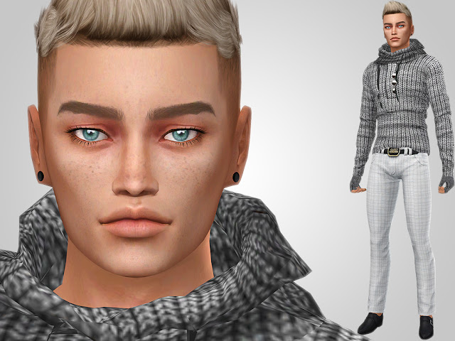 Sims 4 Gabriel Murillo at MSQ Sims
