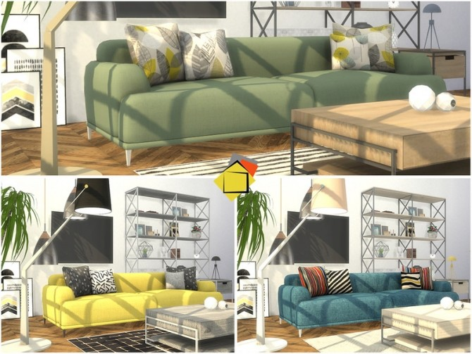 Brittany Living Room by Onyxium at TSR image 7718 670x503 Sims 4 Updates