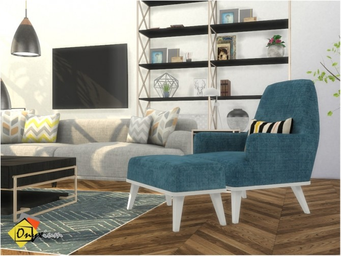 Brittany Living Room by Onyxium at TSR image 7817 670x503 Sims 4 Updates