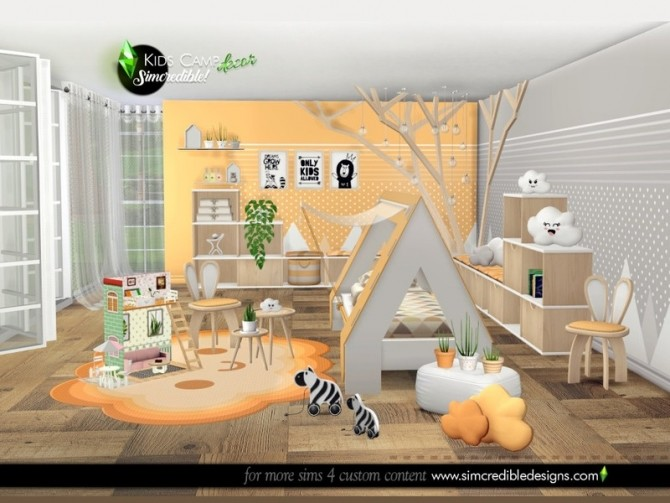 Kids Camping decor by SIMcredible at TSR image 7819 670x503 Sims 4 Updates