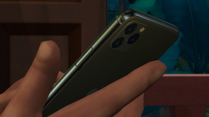 Sims 4 Apple iPhone 11 Pro Replacement by littledica at Mod The Sims