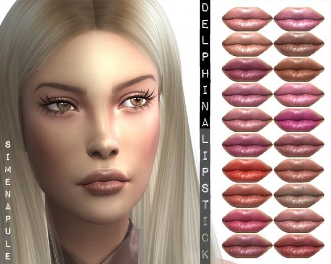 Delphina Lipstick 03 at Simenapule image 7915 670x535 Sims 4 Updates