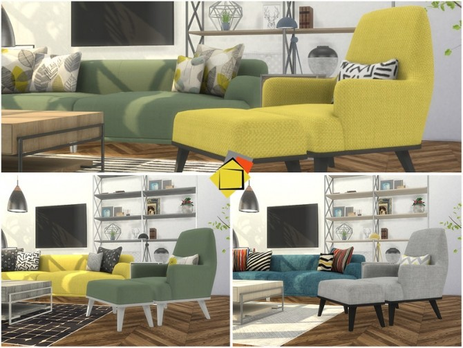 Brittany Living Room by Onyxium at TSR image 7917 670x503 Sims 4 Updates