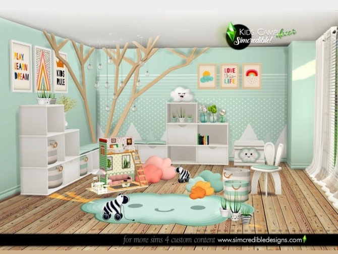 Kids Camping decor by SIMcredible at TSR image 7920 670x503 Sims 4 Updates