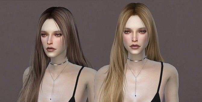Sims 4 WINGS TZ0306 hair by wingssims at TSR