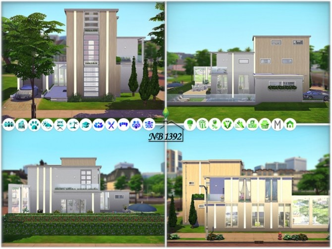 Sims 4 A Voila large spacious house by nobody1392 at TSR