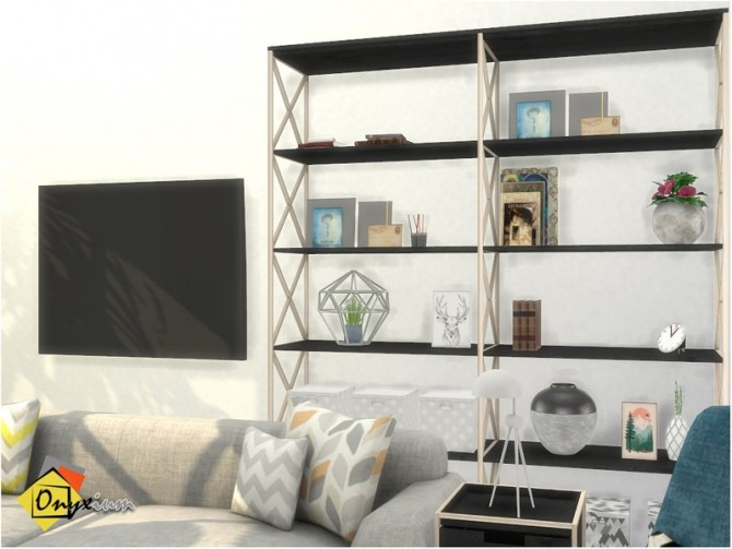 Brittany Living Room by Onyxium at TSR image 8018 670x503 Sims 4 Updates