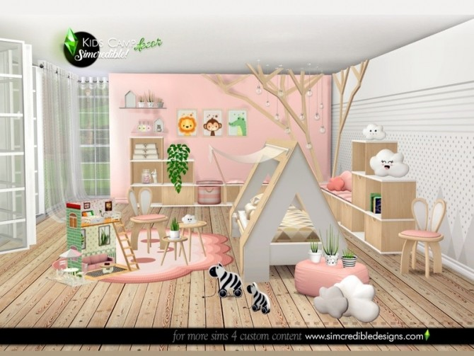 Kids Camping decor by SIMcredible at TSR image 8021 670x503 Sims 4 Updates