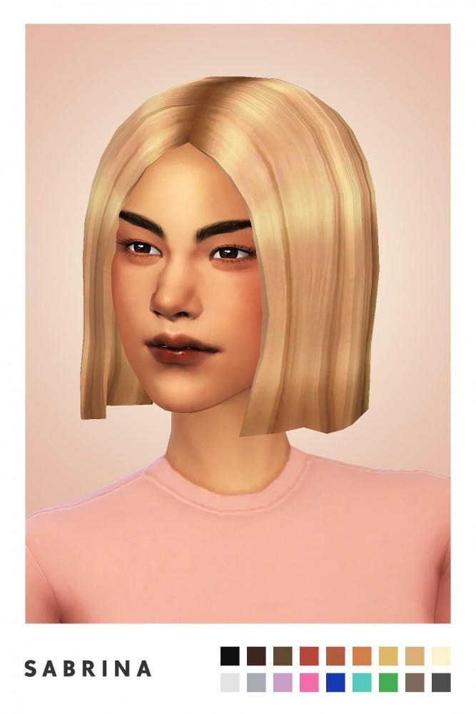 Sabrina hair new mesh at Sulsulhun image 808 667x1000 Sims 4 Updates