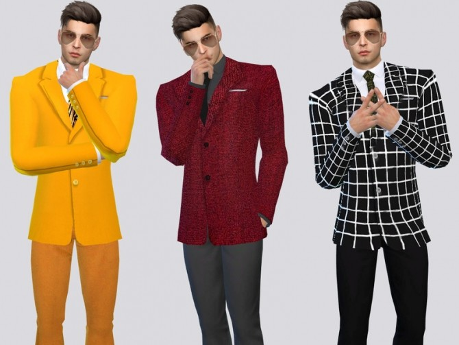 The Americana Suit Jacket by McLayneSims at TSR image 8105 670x503 Sims 4 Updates
